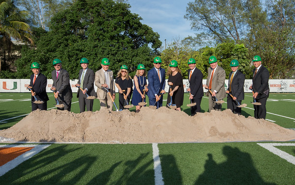 Carol Soffer Football Indoor Practice Facility - May 4, 2017