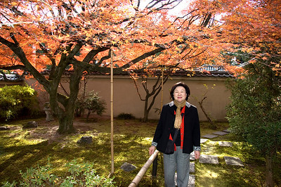 2009/11 Mom in Kyoto