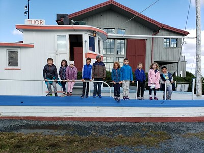 Second Graders Take Learning to the Eastern Shore
