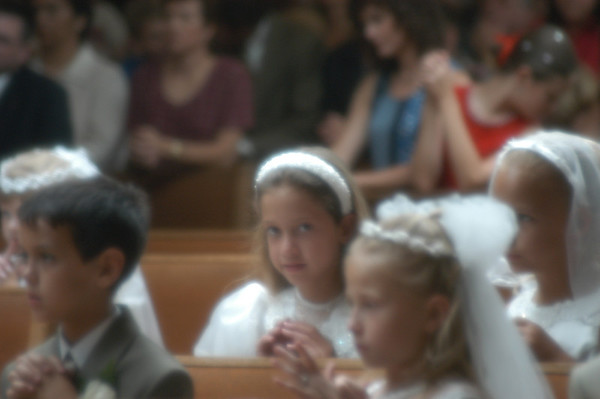 Nicole 1st Communion