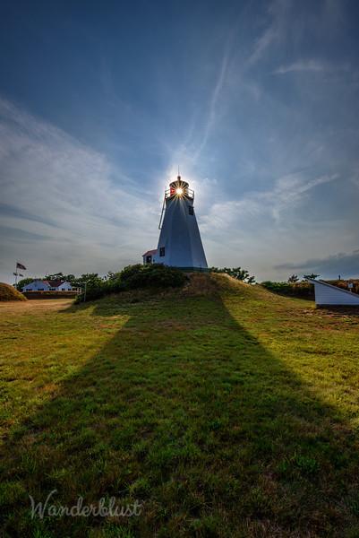 The Gurnet Lighthouse