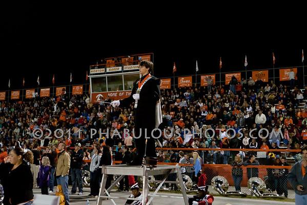 Edgewater @ Boone Varsity Football Senior Night - 2011