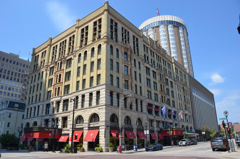 The Pfister Hotel.