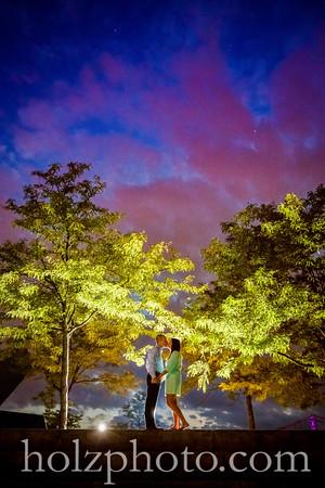 Teresa & Jacob Color Engagement Photos