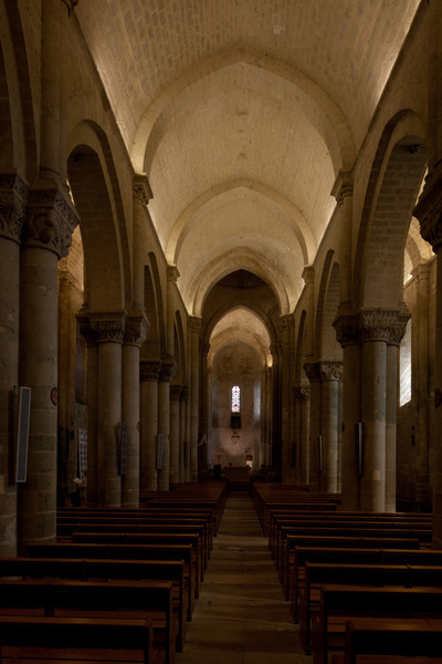 Aulnay-de-Saintonge Abbey Nave