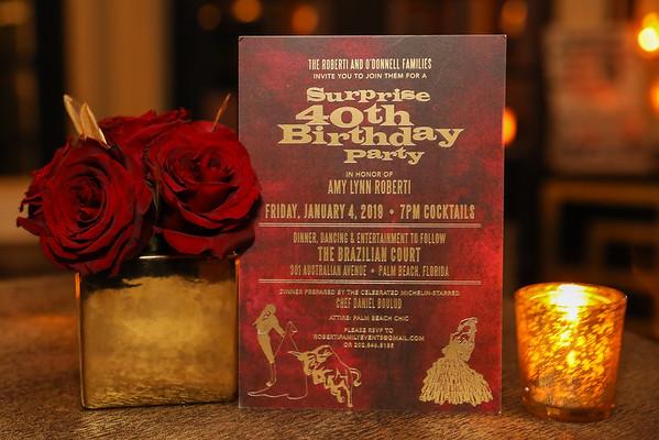 Amy's Surprise Party