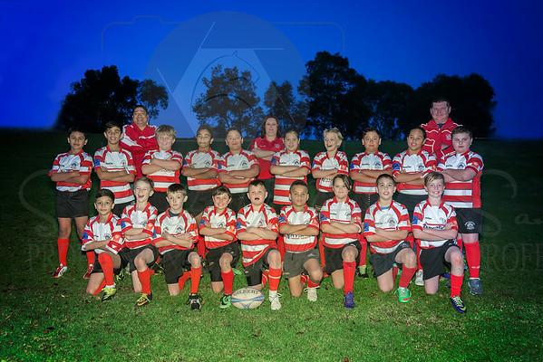 Under 10's Team Photo's