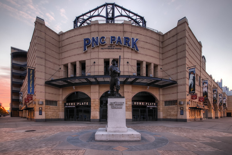 Entrance of PNC Park.  One of my most viewed images within it's home gallery on pbase.  For more images of this great city please visit my Profiling Light blog. HERE