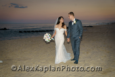 Wedding at Spring Lake Beach, Spring Lake NJ by Alex Kaplan Photo Video Photobooth