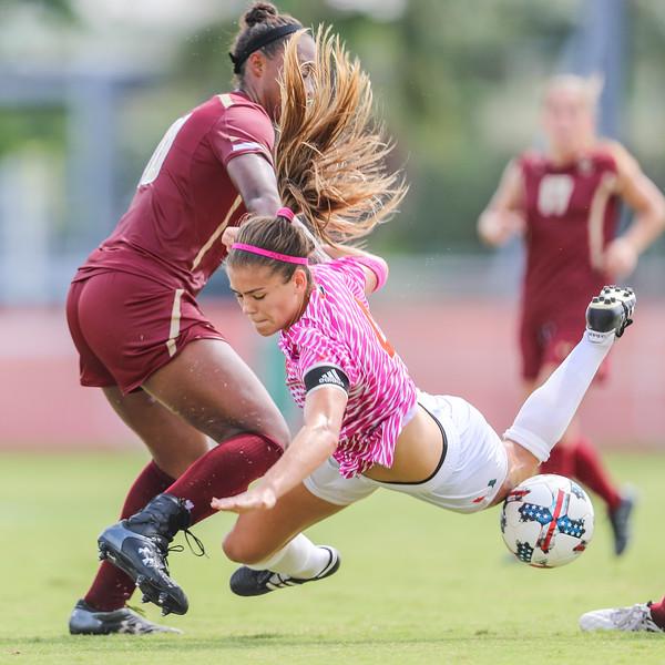 University of Miami Soccer vs. Boston College 2017