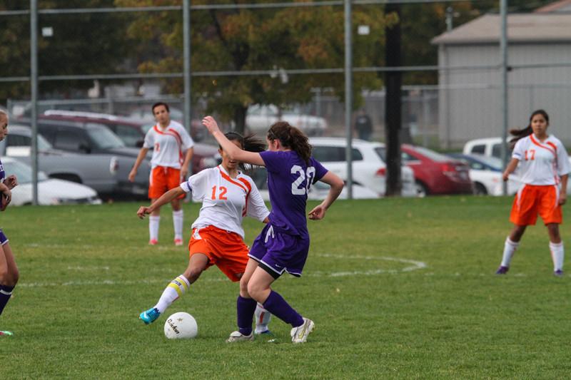 2012-10-30 Davis H.S. Soccer vs. Wenatchee; District Playoffs Round 1