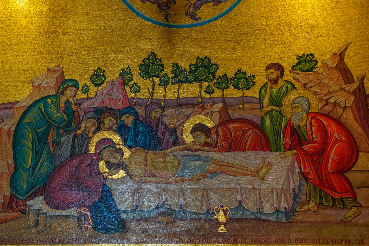 Art Work in the Church of Holy Sepulchre