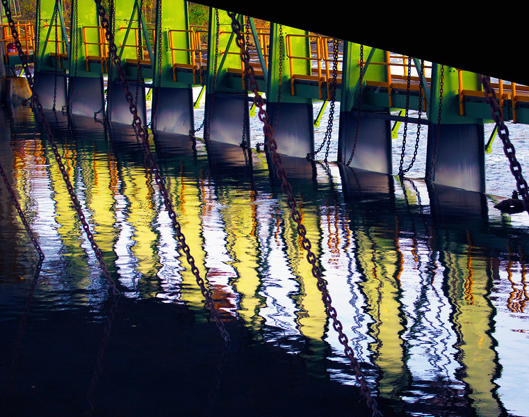 Erie Canal weir
