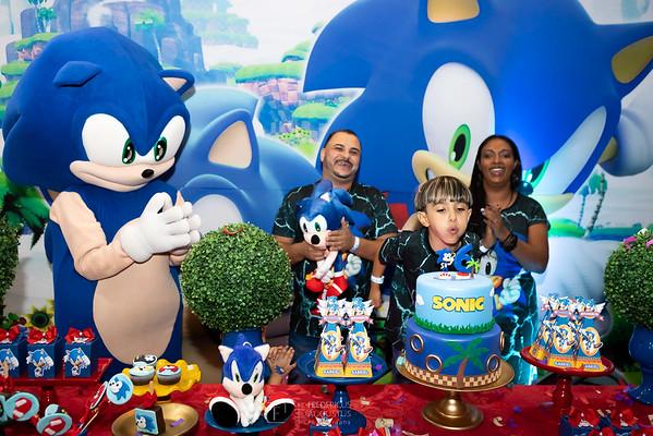 Festa do Sonic no Espaço Sonho Meu do Gabriel
