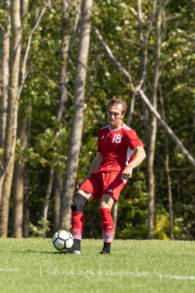 2019-09-14 Hillsdale College Club Soccer vs. Grand Valley