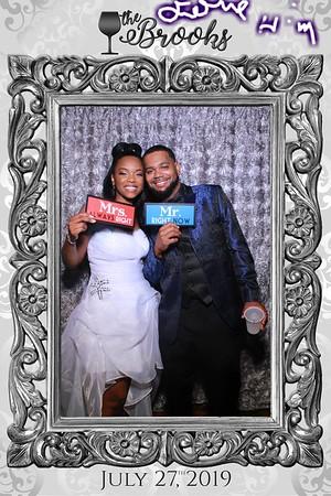 Tynetta and Samuel's Wedding Mirror Booth 2019