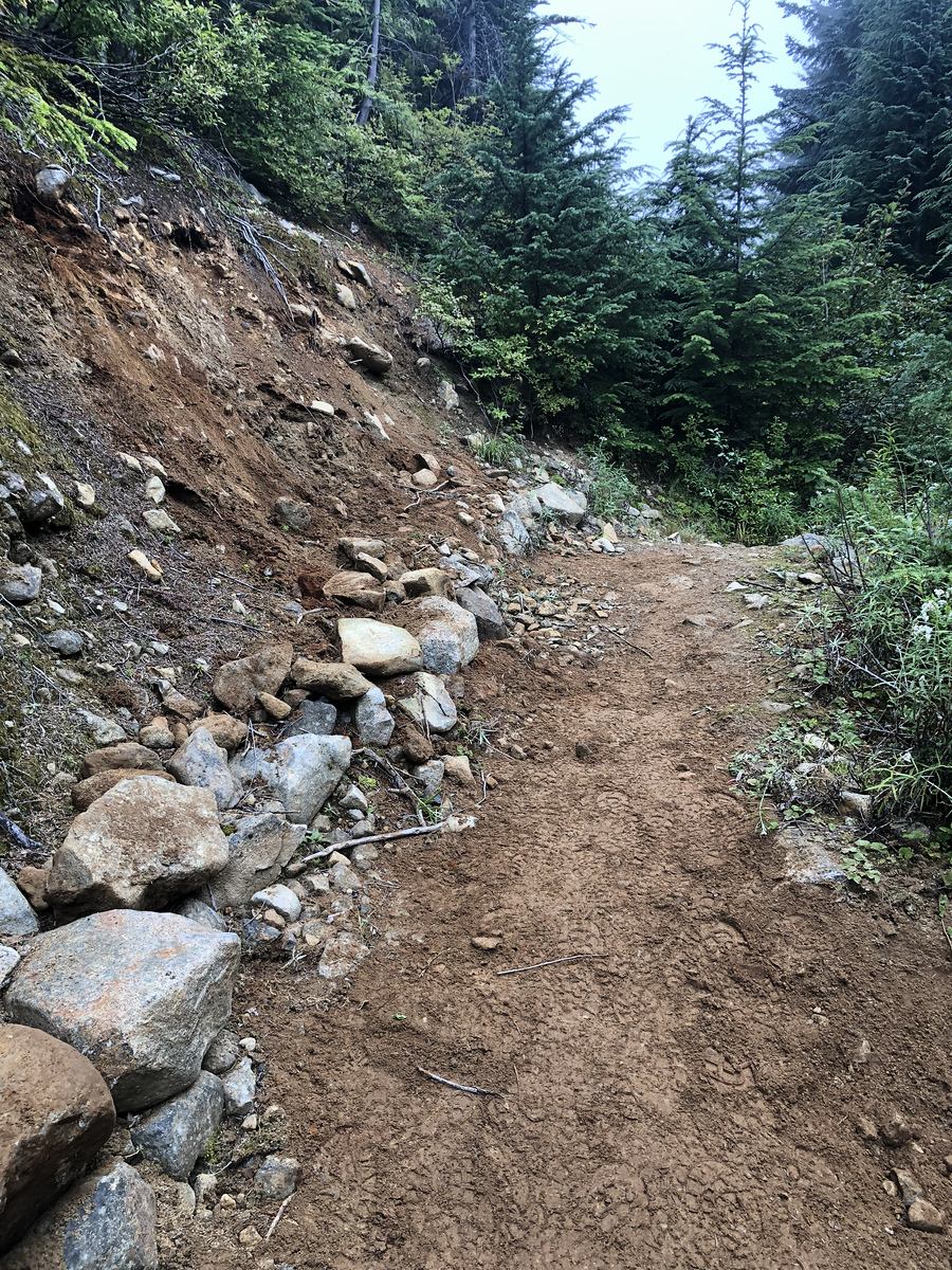 Our trail work!