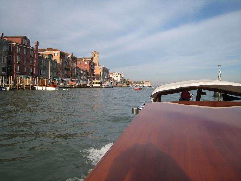 Venice - Water taxi tour