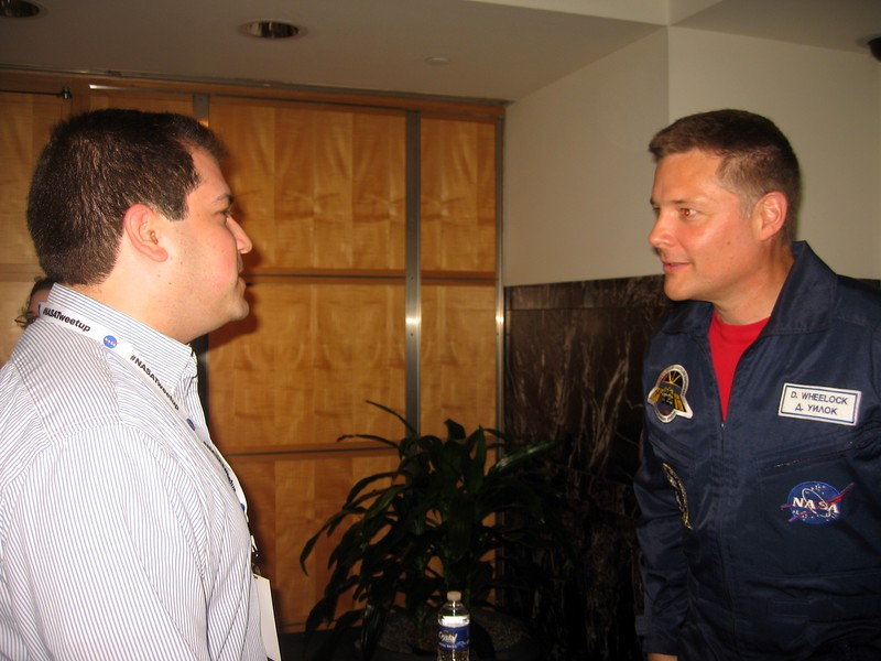 Craig with Doug Wheelock