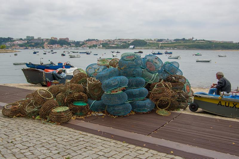 Fisherman and nets, Porto
