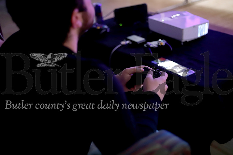 E Gaming / E Sports at Slippery Rock. Seb Foltz/Butler Eagle 10/18/19