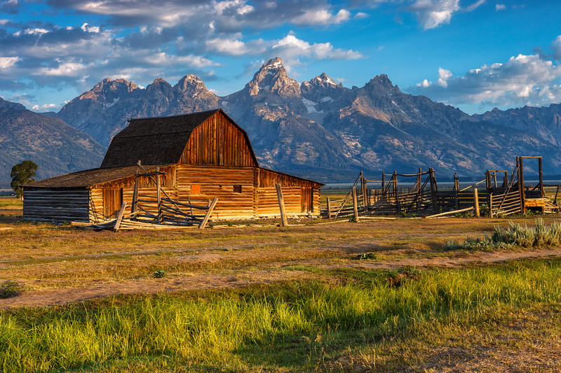Moulton Barn, Grand Teton National Park. Wyoming, USA.