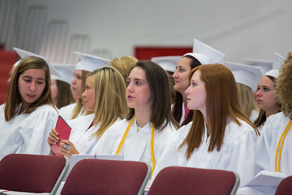 Marshall 2015 Graduation Practice,  Baccalaureate, and Graduation