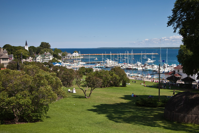 Mackinac Island Boat Harbour