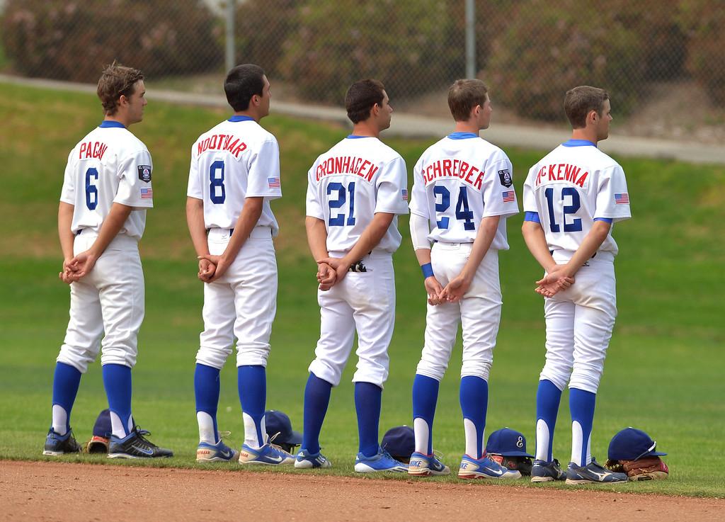 . 0509_SPT_TDB-L-SOUTH-ELSEG--- El Segundo, CALIFORNIA--5/8/13--- Staff Photo: Robert Casillas / LANG--- South Torrance defeated host El Segundo 6-3 in Pioneer League baseball game.