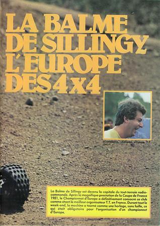 1982 - Balme de Sillingy, France
