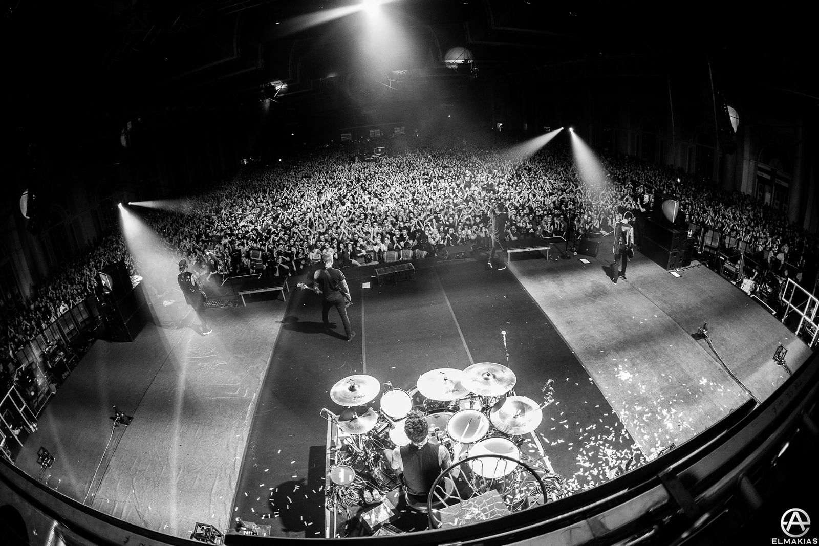 A Day To Remember live at Alexandra Palace