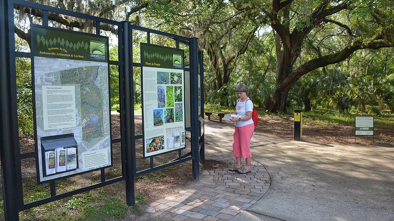 Jacksonville Arboretum entrance