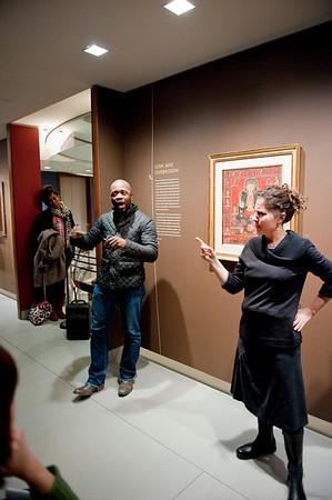 ASL Tour at the Rubin Museum