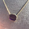 'Push Along' Purple Glass Pendant, by Seal & Scribe 19