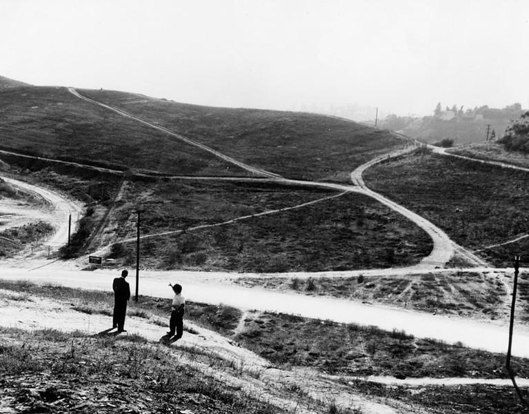 Surveying Undeveloped Hillsides