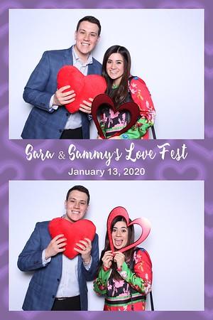 Sara and Sammy's Love Fest (Studio Booth)