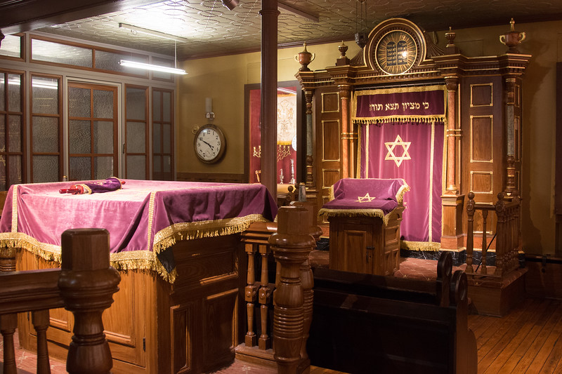 chapel downstairs -- Eldridge Street Synagogue/ The Museum at Eldridge Street, Lower East Side, NYC