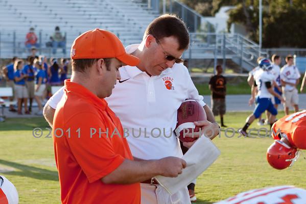 Boone Varsity Football Coaches - 2011