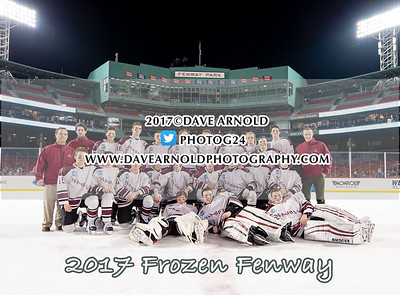 1/11/2017 - Boys Varsity Hockey - Frozen Fenway - Tabor vs Belmont Hill