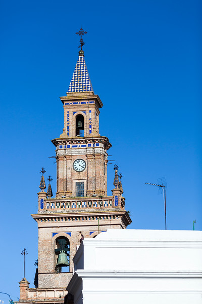 Bell Tower of Santa Maria Church, Carmona, province of Seville, Spain