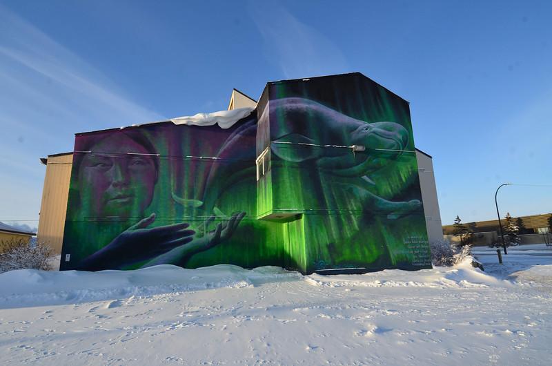 Mural in Churchill