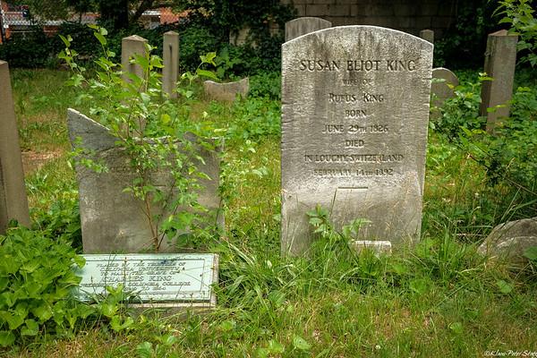 Grace Episcopal Graveyard, Queens 2021