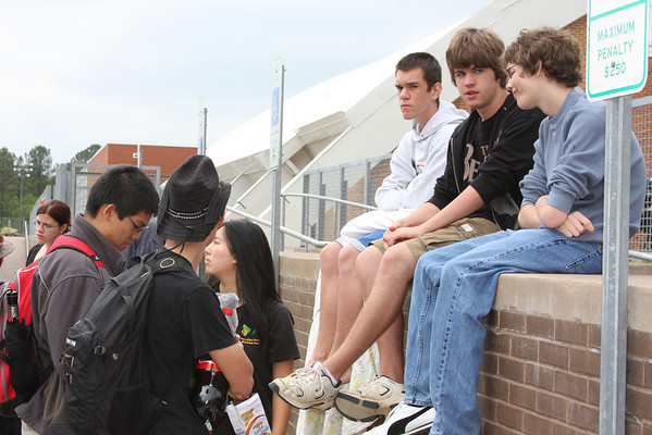 2010-04-15: Drumline at WGI Nationals