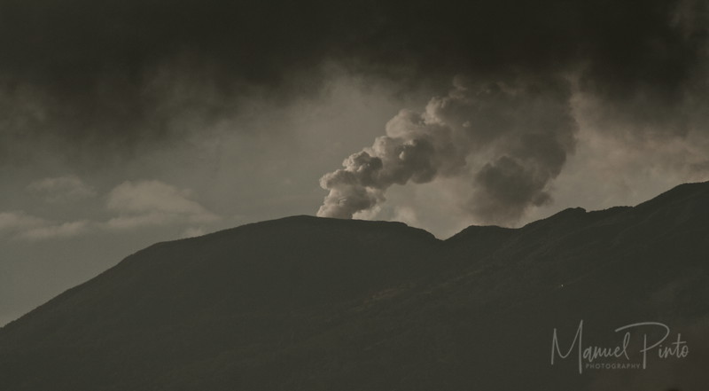 Volcan Turialba as seen driving from San Jose via the Turialba Road