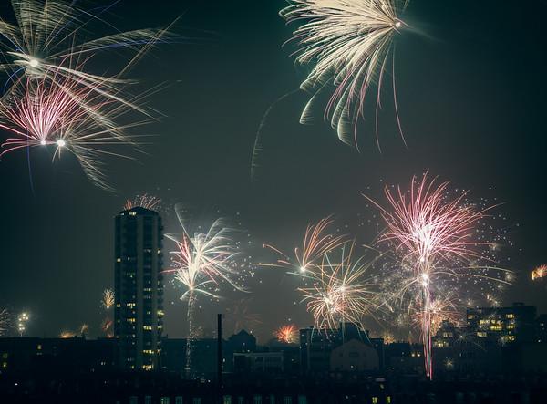 New Years Firewoks