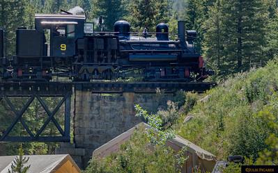 Georgetown Loop Railroad June 2017