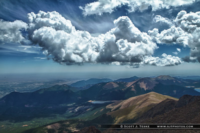 Garden of the Gods, Pikes Peak and Loveland Pass
