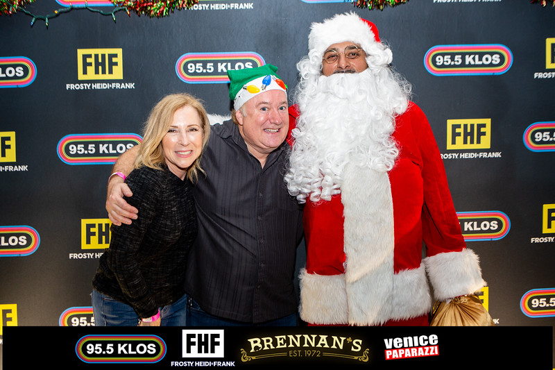 4th Annual Frosty, Heidi & Frank Reinbeer Games at Brennan's.  @fhfshow a @klos955 @turtleraces . Photo by @VenicePaparazzi