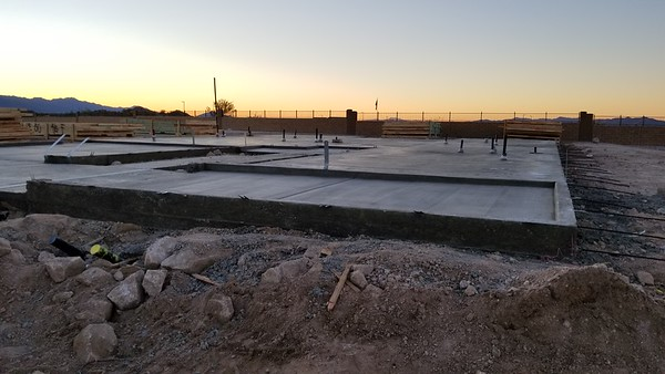 2019-01-23 Pad Poured