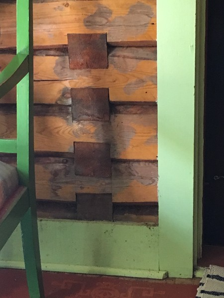 Interior Logs | From front porch